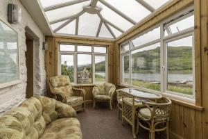 Carna cottage conservatory